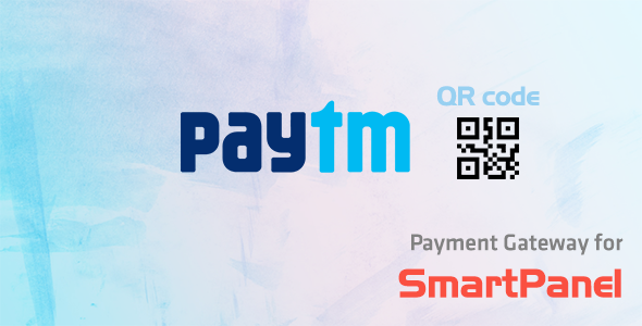 Paytm QR Code Payment Module for SmartPanel