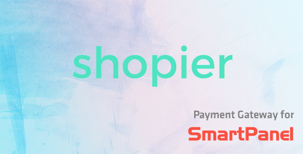 Shopier Payment Module for SmartPanel