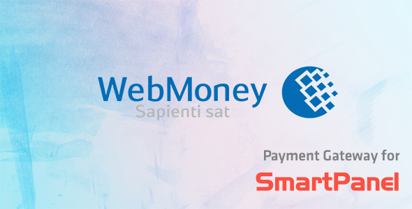 Webmoney Payment Module for SmartPanel