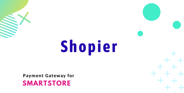 Shopier Payment Module for SmartStore
