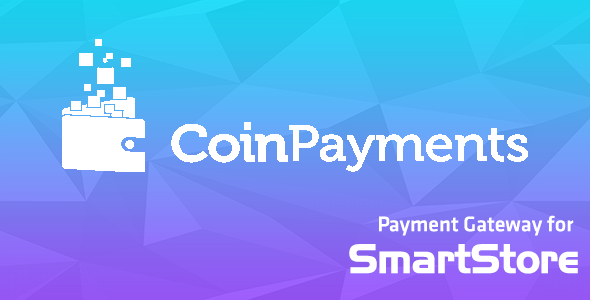 Coinpayments Payment Module for SmartStore