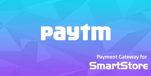 Paytm Payment Module for SmartStore