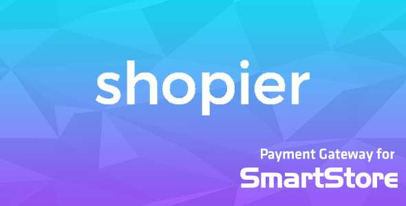 Shopier Payment Module for SmartStore