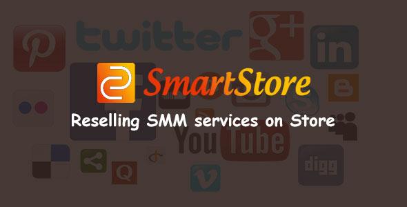 SmartStore - SMM Store Script